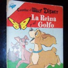 Tebeos: CUENTOS DE WALT DISNEY N.118 1956 FILM EL VAGABUNDO Y LA DAMA. Lote 130218879