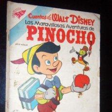 Tebeos: CUENTOS DE WALT DISNEY N.66 1954 FILM PINOCHO FILM. Lote 130219079