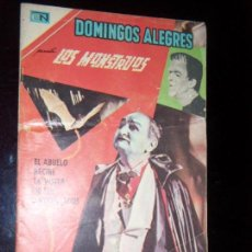 Tebeos: DOMINGOS ALEGRES N.713 LOS MONSTERS GERMAN MONSTER SERIE TV. Lote 130219307