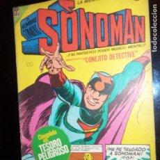Tebeos: SONOMAN N. 2, Y SU PODER MUSICO MENTAL.. ART. OSWAL ORIGINAL 1968 URRACA EDICION. Lote 130219759
