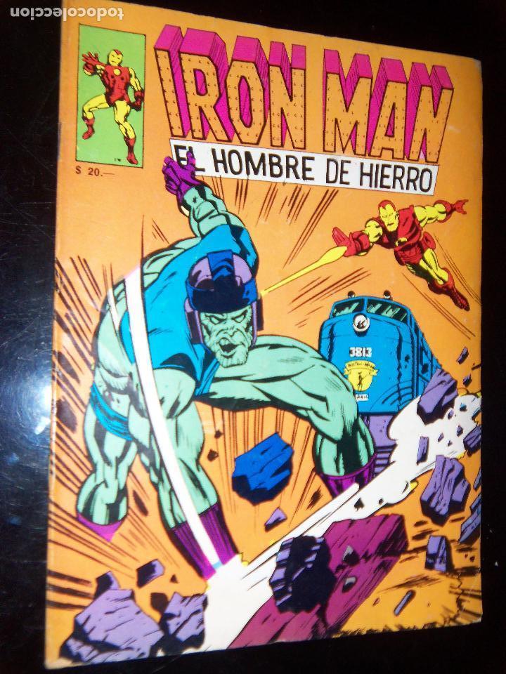 IRON MAN .11 1971 EL HOMBRE DE HIERRO, EDIC GABRIELA MISTRAL CHILE (Tebeos y Comics - Novaro - Otros)
