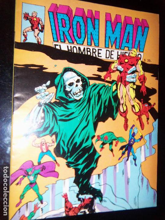 IRON MAN N.11, 1971 EDIT. GABRIELA MISTRAL/MARVEL CHILE (Tebeos y Comics - Novaro - Otros)