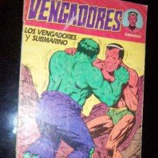 Tebeos: LOS VENGADORES N.3 N.2 VERCION USA KIRBY/LEE EDIC. ARGENTINA ABRIL EDIT.. Lote 130292238