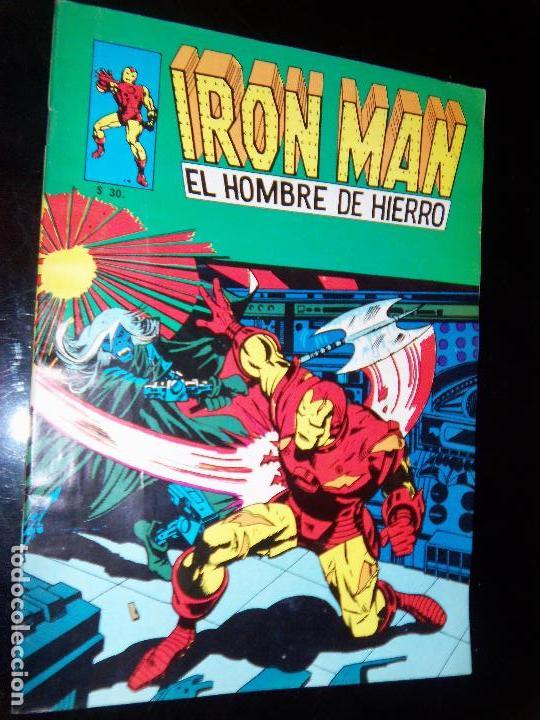 IRON MAN N.10, 1971 EDIT. GABRIELA MISTRAL/MARVEL CHILE (Tebeos y Comics - Novaro - Sci-Fi)