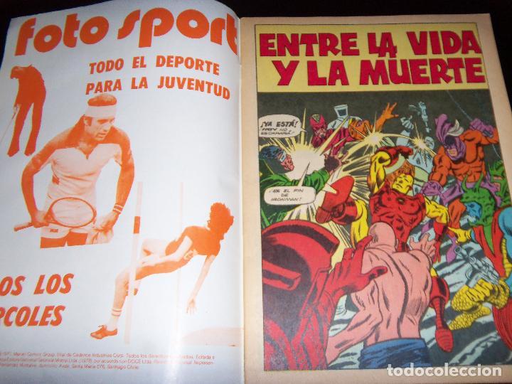 Tebeos: IRON MAN N.10, 1971 EDIT. GABRIELA MISTRAL/MARVEL CHILE - Foto 2 - 130292258