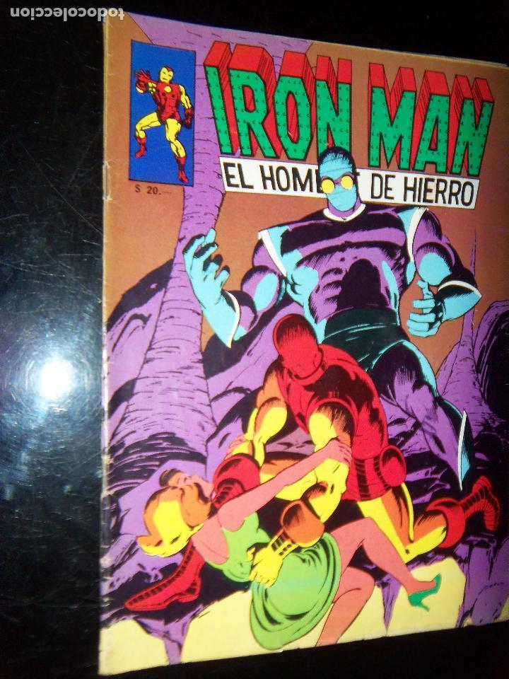 Tebeos: IRON MAN N.7, 1971 EDIT. GABRIELA MISTRAL/MARVEL CHILE - Foto 1 - 130292858