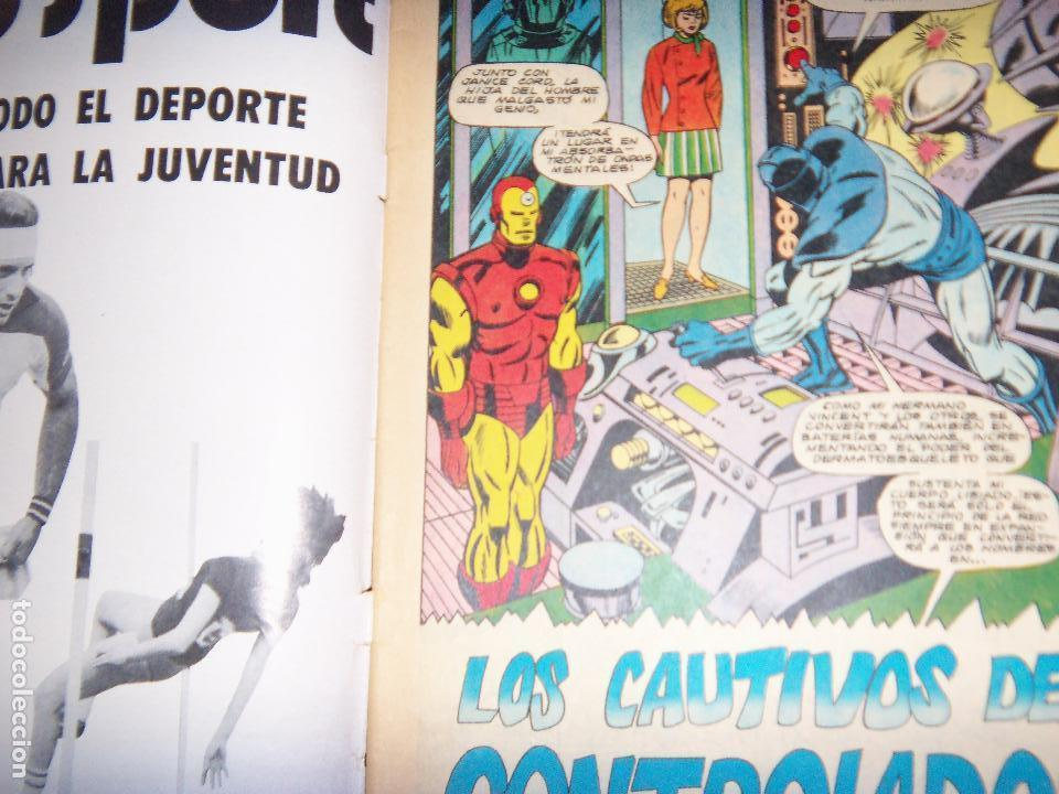 Tebeos: IRON MAN N.7, 1971 EDIT. GABRIELA MISTRAL/MARVEL CHILE - Foto 2 - 130292858