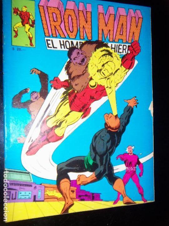 Tebeos: IRON MAN N.8, 1971 EDIT. GABRIELA MISTRAL/MARVEL CHILE - Foto 1 - 130292906