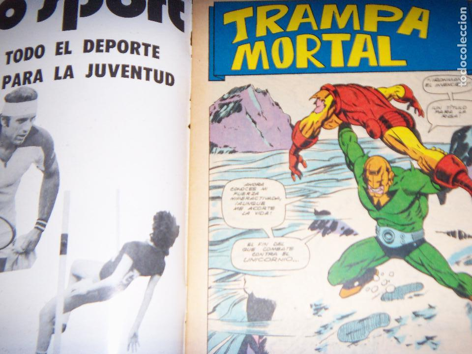 Tebeos: IRON MAN N.8, 1971 EDIT. GABRIELA MISTRAL/MARVEL CHILE - Foto 2 - 130292906