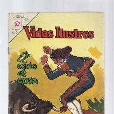 Tebeos: VIDAS ILUSTRES 93: EL GENIO DE GOYA, 1963, NOVARO, USADO. Lote 130351722