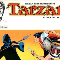 Tebeos: TARZAN EL REY DE LA JUNGLA. LA NIEBLA LUMINOSA. Nº 8. NOVARO, AÑO 1977. Lote 130399094
