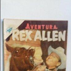 Tebeos: REX ALLEN - AVENTURA N° 26 - ORIGINAL EDITORIAL NOVARO. Lote 130455342