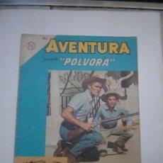 Tebeos: AVENTURA N° 312 - PÓLVORA - ORIGINAL EDITORIAL NOVARO. Lote 130455418
