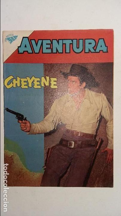 AVENTURA N° 171 - CHEYENE - ORIGINAL EDITORIAL NOVARO (Tebeos y Comics - Novaro - Aventura)