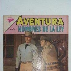 Tebeos: AVENTURA N° 268 - HOMBRES DE LA LEY - ORIGINAL EDITORIAL NOVARO. Lote 130455446