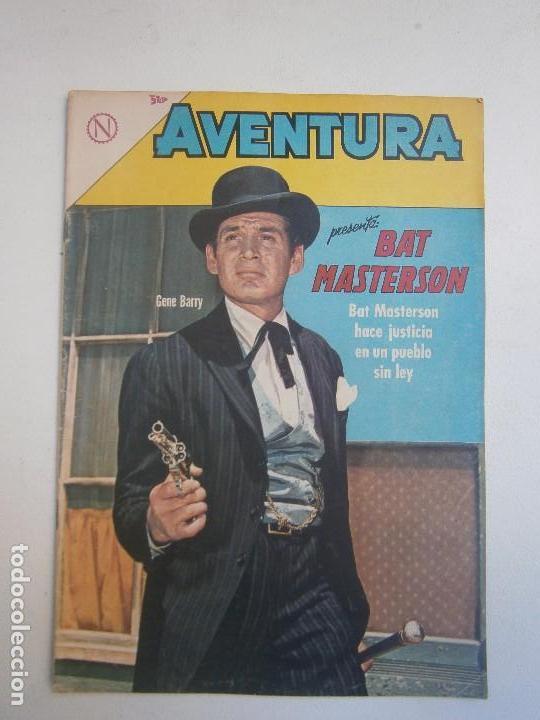 AVENTURA N° 314 - BAT MASTERSON - ORIGINAL EDITORIAL NOVARO (Tebeos y Comics - Novaro - Aventura)