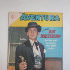 Tebeos: AVENTURA N° 314 - BAT MASTERSON - ORIGINAL EDITORIAL NOVARO. Lote 130891823