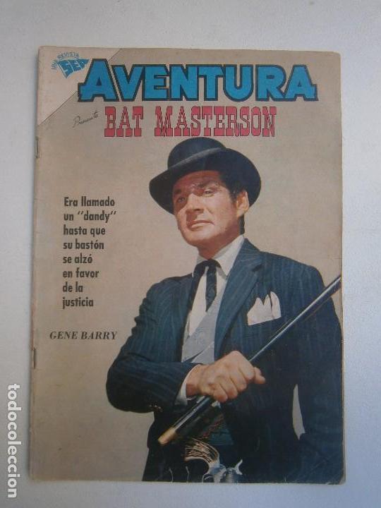 AVENTURA N° 139 - BAT MASTERSON - ORIGINAL EDITORIAL NOVARO (Tebeos y Comics - Novaro - Aventura)