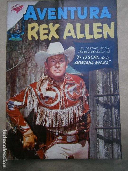 AVENTURA N° 116 - REX ALLEN - ORIGINAL EDITORIAL NOVARO (Tebeos y Comics - Novaro - Aventura)