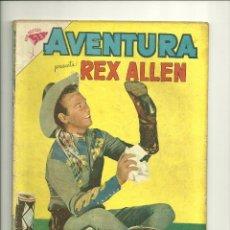Tebeos: AVENTURA N° 131 - REX ALLEN - ORIGINAL EDITORIAL NOVARO. Lote 130476354