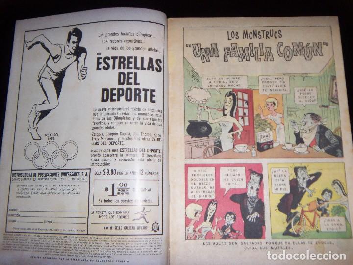 Tebeos: Domingos Alegres N.600 LOS MONSTERS GERMAN MONSTER SERIE TV - Foto 2 - 130530634