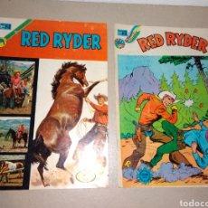 Tebeos: RED RYDER NR , 293, 327 EDITORIAL NOVARO ORIGINALES 1972 MUY BUEN ESTADO. Lote 130589950