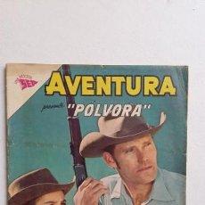 Tebeos: AVENTURA N° 300 - PÓLVORA - ORIGINAL EDITORIAL NOVARO. Lote 130633746