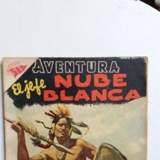 Tebeos: AVENTURA N° 62 - EL JEFE NUBE BLANCA - ORIGINAL EDITORIAL NOVARO. Lote 130634058