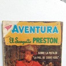 Tebeos: AVENTURA N° 106 - EL SARGENTO PRESTON - ORIGINAL EDITORIAL NOVARO. Lote 130634702