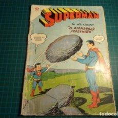Tebeos: SUPERMAN. Nº 132. NOVARO. CASTIGADO. (B-5). Lote 130643174