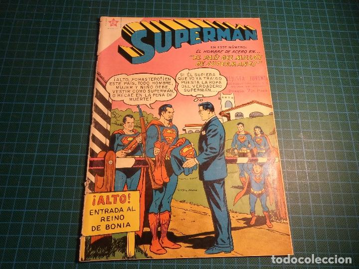 SUPERMAN. Nº 177. NOVARO. RECORTADO. (B-5) (Tebeos y Comics - Novaro - Superman)