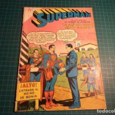 Tebeos: SUPERMAN. Nº 177. NOVARO. RECORTADO. (B-5). Lote 130643182