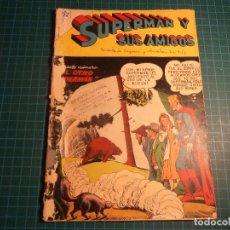 Tebeos: SUPERMAN Y SUS AMIGOS. Nº 19. NOVARO. CASTIGADO. (B-5). Lote 130643210