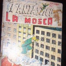 Tebeos: FANTASTICO N.113 PRES.LA MOSCA THE FLY 113 EDITOR SOL DE MEXICO -1962. Lote 130742524