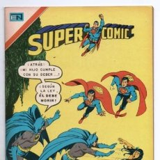 Tebeos: SUPERCOMIC # 105 NOVARO AGUILA 1975 SUPERMAN BATMAN DICK DILLIN VINCE COLLETTA BOB HANEY IMPECABLE. Lote 130742534