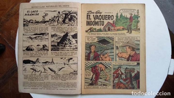 Tebeos: Aventura n° 77 - Epopeyas del oeste por Zane Grey - original editorial Novaro - Foto 2 - 130769196