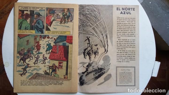 Tebeos: Aventura n° 77 - Epopeyas del oeste por Zane Grey - original editorial Novaro - Foto 3 - 130769196