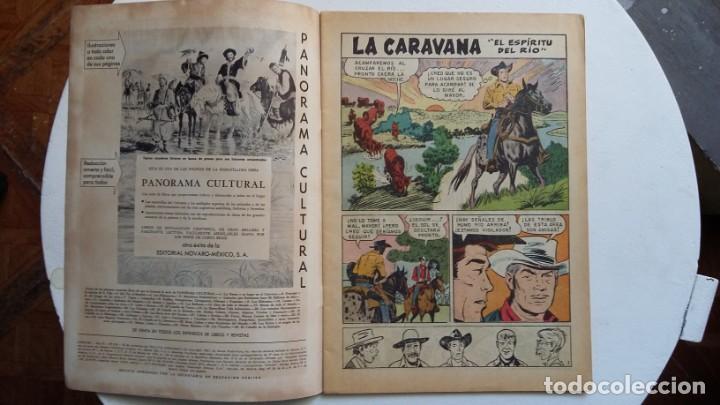 Tebeos: Aventura n° 254 - La Caravana - original editorial Novaro - Foto 2 - 130770196