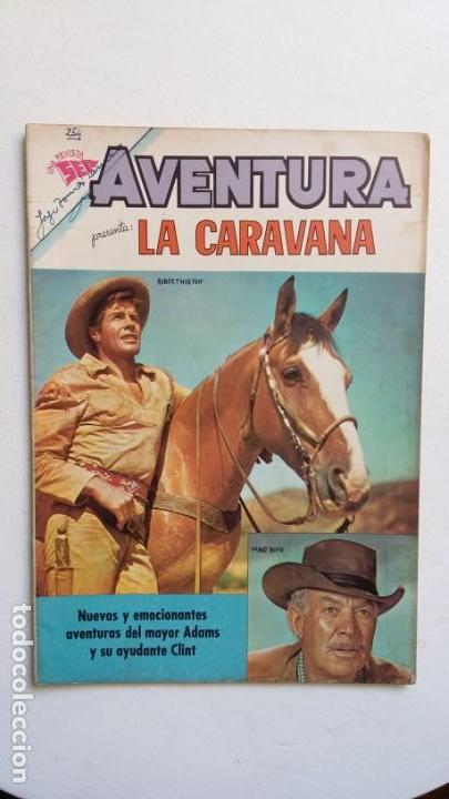 AVENTURA N° 254 - LA CARAVANA - ORIGINAL EDITORIAL NOVARO (Tebeos y Comics - Novaro - Aventura)