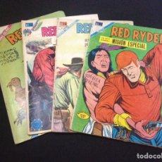 Tebeos: RED RYDER. Nº 257 - 188 - 302 - 324. EDITORIAL NOVARO.. Lote 130944656