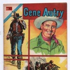 Tebeos: GENE AUTRY # 324 NOVARO RE-EDICION DEL PRIMER NUMERO 1953 EN FORMATO AGUILA EL MISTERIO RX IMPECABLE. Lote 131051248