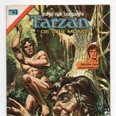 Tebeos: TARZAN # 472 NOVARO AGUILA 1975 UN EJERCITO SINGULAR HORROR EN EL PANTANO IMPECABLE. Lote 131076064