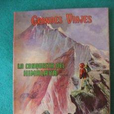 Tebeos: GRANDES VIAJES LIBRO COMIC Nº V EDITORIAL NOVARO. Lote 131181576