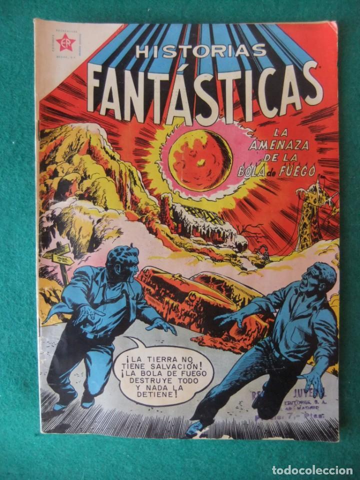 HISTORIAS FANTASTICAS Nº 13 LA AMENAZA DE LA BOLA DE FUEGO EDITORIAL NOVARO (Tebeos y Comics - Novaro - Otros)