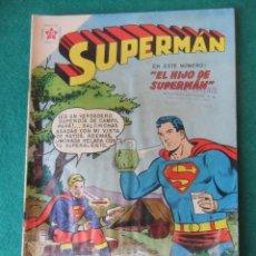 Tebeos: SUPERMAN Nº 194 EL HIJO DE SUPERMAN NOVARO. Lote 131183652