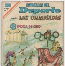 Tebeos: ESTRELLAS DEL DEPORTE Nº 28 (NOVARO 1967). Lote 131588670