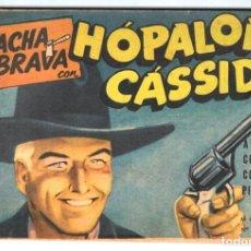 Tebeos: HACHA BRAVA # 7 TOMAJAUK MUCHNIK 1955 HOPALONG CASSIDY VIGILANTE VENADO OESTE RICK TTE FOLEY 66 PAG. Lote 131760046