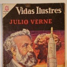 Tebeos: VIDAS ILUSTRES Nº 131 JULIO VERNE 1966. NOVARO. Lote 131781590