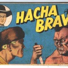 Tebeos: HACHA BRAVA # 12 TOMAJAUK MUCHNIK 1955 HOPALONG CASSIDY VIGILANTE VENADO OESTE RICK 66 P EXCELENTE. Lote 131960450