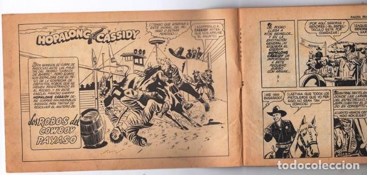 Tebeos: HACHA BRAVA # 12 TOMAJAUK MUCHNIK 1955 HOPALONG CASSIDY VIGILANTE VENADO OESTE RICK 66 P EXCELENTE - Foto 2 - 131960450